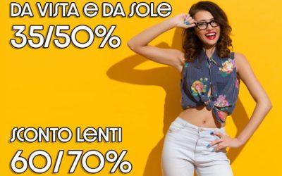 Sconti Fissi! 35/50%
